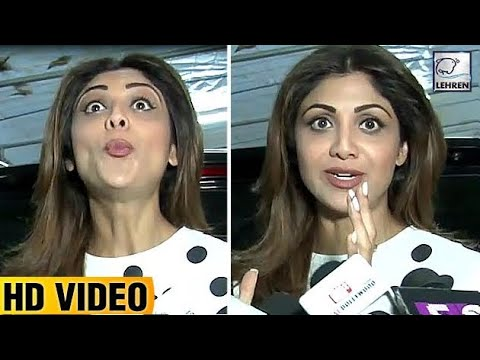 Shilpa Shetty's BEST REACTION ON Triple Talaq | LehrenTV