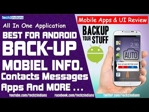 BACKUP Mobile Data | Apps-Contacts-Call Record-SMS Backup...etc | Online/Offline Store Data