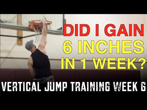 Vertical Jump Training Week 6: Did I Gain 6 Inches In 1 Week?