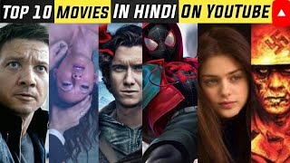 Hollywood Top 10 Best Movies available on YouTube dubbed in Hindi 2020
