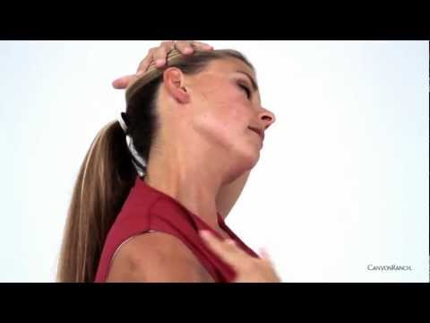 Pilates Seated Stretch - To Relieve Neck and Shoulder Tension