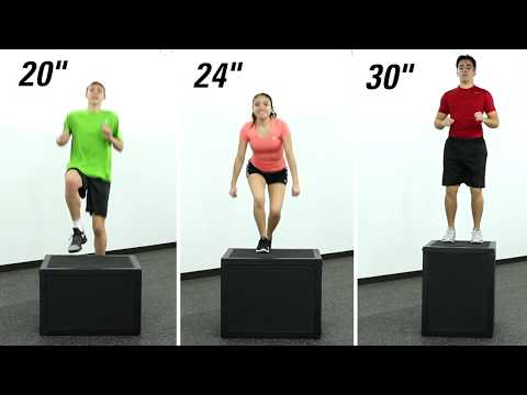 The strongest 3-in-1 plyo box