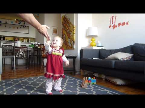 Time-Lapse of Baby Learning to Walk