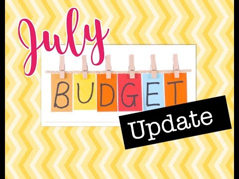 July Budget Update| Tracking Spending| Make Extra Money| Supplemental Income