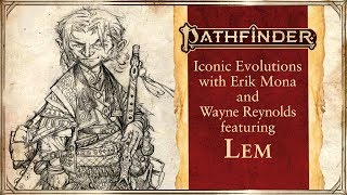 Iconic Evolution: Lem With Erik Mona And Wayne Reynolds