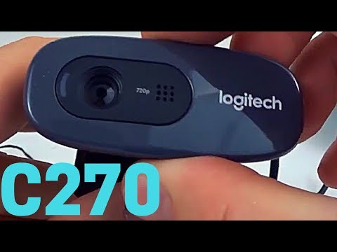 Logitech C270 Webcam Review and Install Tutorial - C270 Video Test