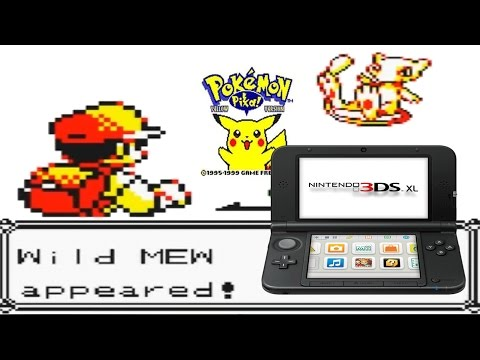 How To Catch Mew in Pokemon Red/Blue/Yellow on 3DS