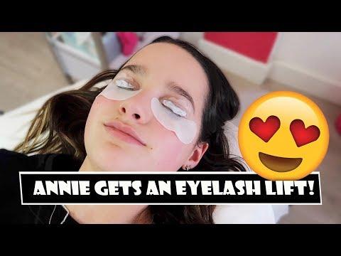 Annie Gets An Eyelash Lift 😍 (WK 378.6)   Bratayley