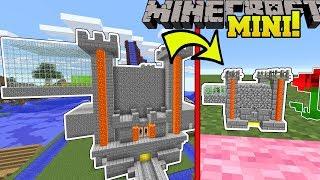Minecraft: POPULARMMOS MINI CASTLE!!! (TROLLING BLOCKS, SAVAGE CLOUD, & GIANT PICKAXE!)