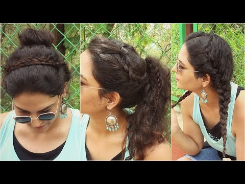 SIMPLE 2 Minute Curly Hairstyles | Back To School | Knot Me Pretty