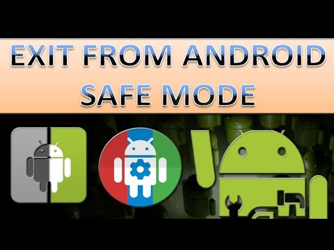 How to exit safe mode in android? Multiple options