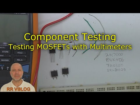 Component Testing, Testing MOSFETs with Multimeters