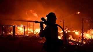 California wildfires kill at least 9