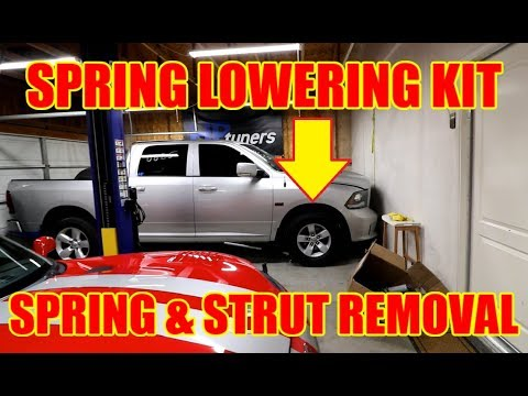Lowering RAM 1500 Front Suspension 2WD