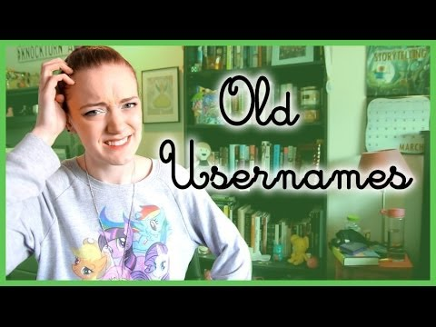 Embarrassing Old Usernames!
