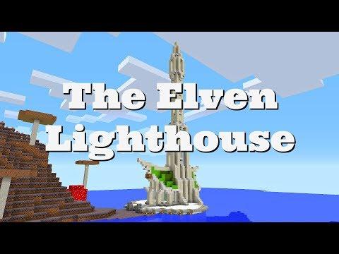 Minecraft Timelapse - The Elven Lighthouse