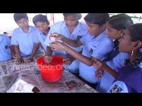 Soap manufacturing by students, Kerala