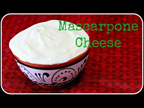 Mascarpone cheese - Homemade Italian Cheese