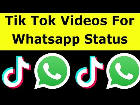 How To Share Tik Tok Video On Whatsapp Status & Download Videos Without Watermark-2019