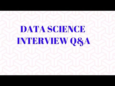 9 Data Science Interview Q&A | Analytics Interview