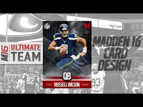 Madden 16 Card Design Concept Speedart #2