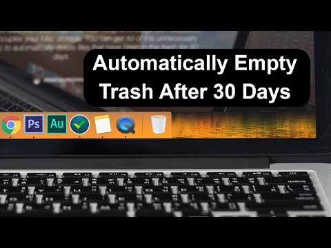 How to Automatically Empty Trash on Mac After 30 Days