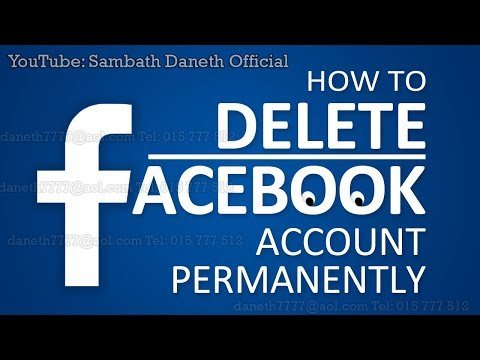 How to delete Account Facebook Permanently Without waiting 14day