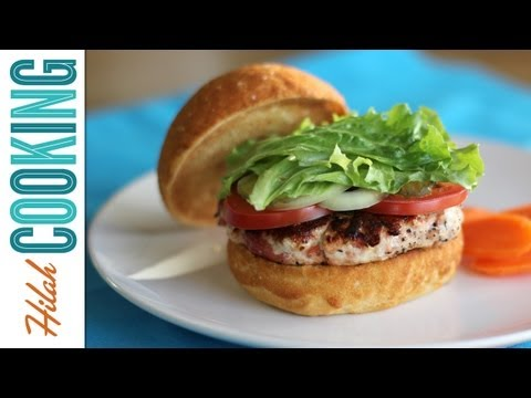 How To Make Turkey Burgers | Hilah Cooking