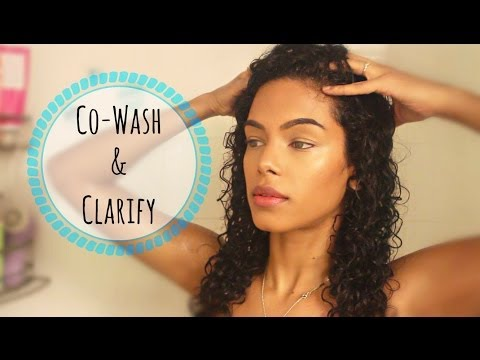 How to: Co-Wash & Clarify your hair | SunKissAlba