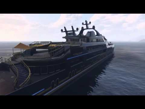Aquarius Yacht Tour - GTA Online