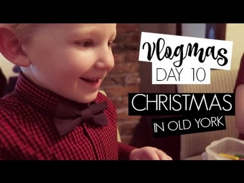 VLOGMAS DAY 10 / Christmas in 'Old York'