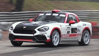 Monza Rally Show 2016: Friday & Saturday Special Stages - Abarth 124 Rally, Legacy Gr.A...