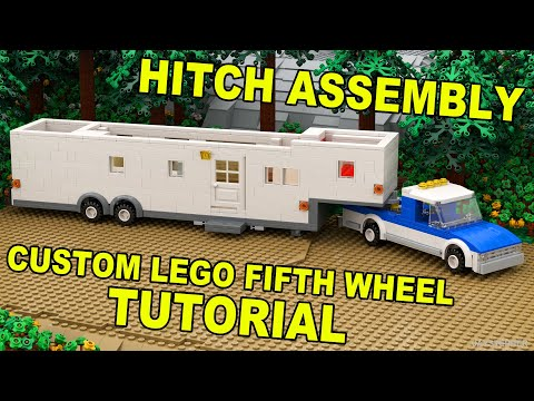 Tutorial - Lego Fifth Wheel Hitch Assembly (11 - 12) [CC]