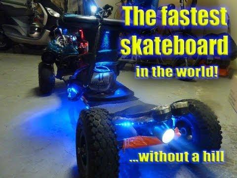 My Motorised Skateboard - The Build