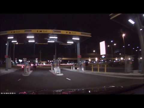 Real time Driving from Melbourne Airport FHD