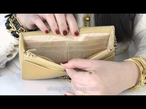 How to spot a fake Chanel caviar wallet