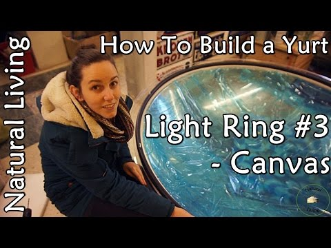 How to Build a Yurt - Light Ring #3 (Canvas)