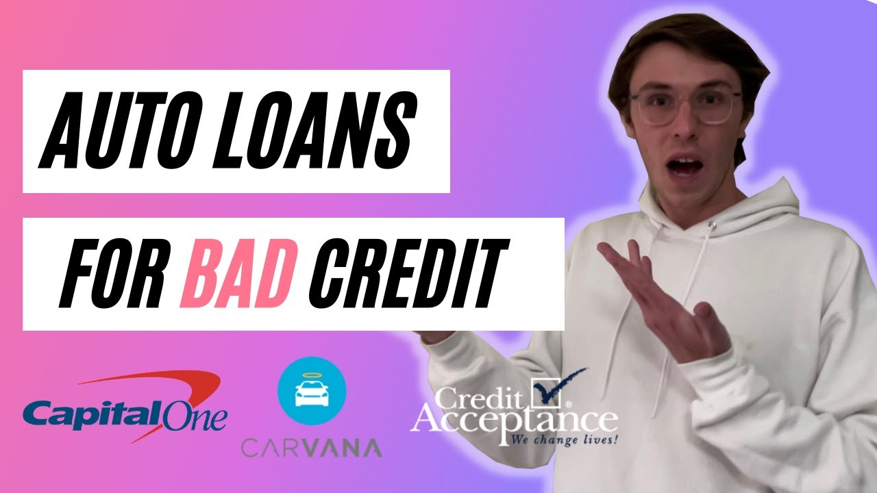 The BEST Auto Loans For BAD CREDIT (Bankruptcy and Repo OK!)