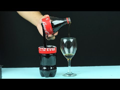 AWESOME COCA COLA TRICK!