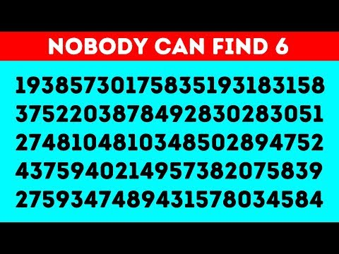 HOW GOOD ARE YOUR EYES? 94% FAIL TO SOLVE THIS IN 10S!