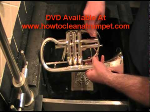 How To Clean A Trumpet Part 1 of 2