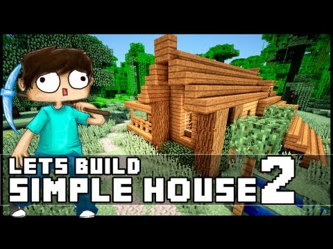 Minecraft: How To Build a Simple Starter House 2
