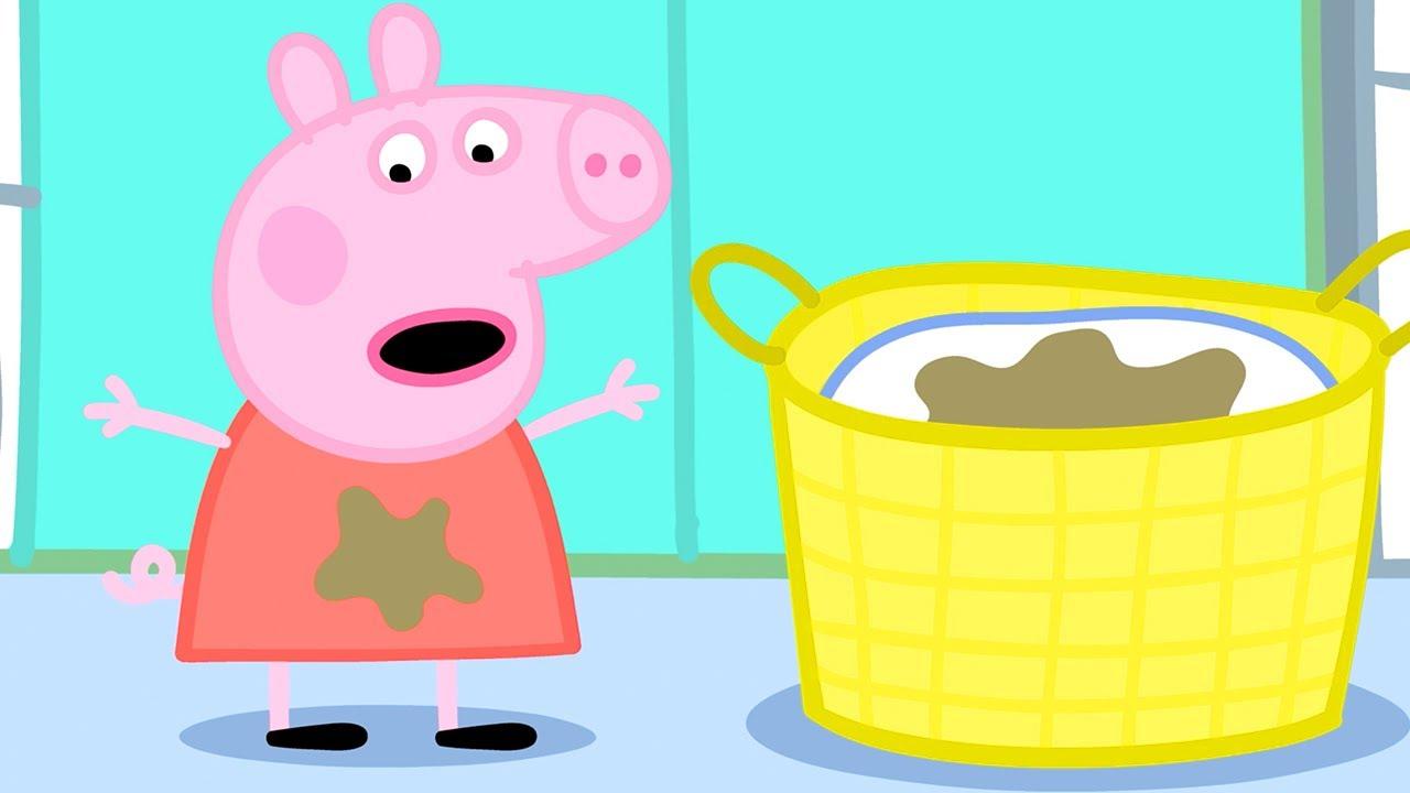 Peppa Pig English Episodes   Washing
