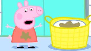 Peppa Pig English Episodes | Washing