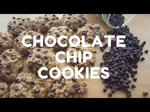 CHOCOLATE CHIP COOKIE RECIPE | HEALTHY | 7 INGREDIENTS