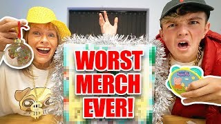 This is the WORST Youtuber MERCH of all Time... (Morgz Advent Calendar)