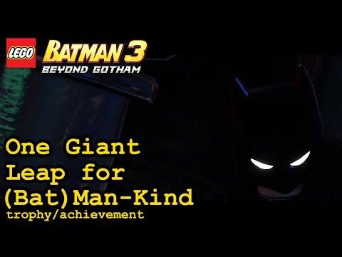 One Giant Leap for (Bat)Man-Kind trophy / achievement   Lego Batman 3: Beyond Gotham