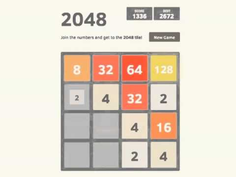 Simple Trick To Getting A High Score In 2048