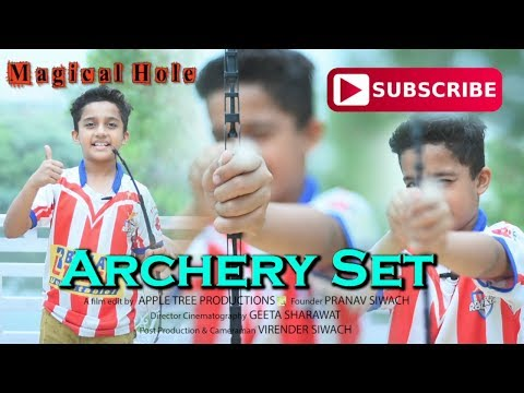 How to make a Kids Bow and Arrow || Archery Set || DIY || Car Wiper || Magical Hole