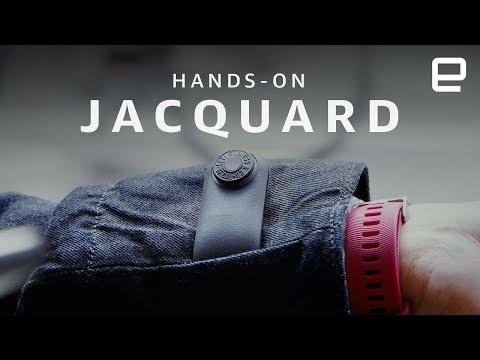 Google Jacquard smart jacket Hands-On